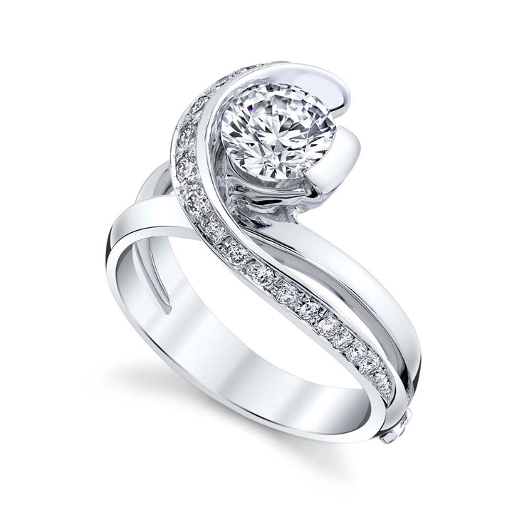 White Gold | Vision-engagement-ring