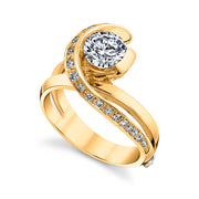 Yellow Gold | Vision-engagement-ring