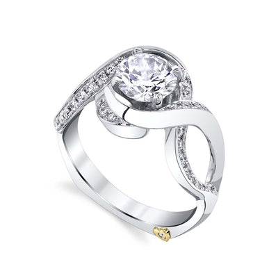 White Gold | Vivid-engagement-ring