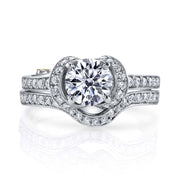 White Gold | Yearn-engagement-ring