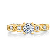 Yellow Gold | Yours Truly-engagement-ring