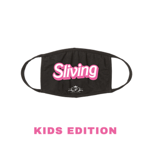 Sliving (Large Text) Face Mask Kids Edition