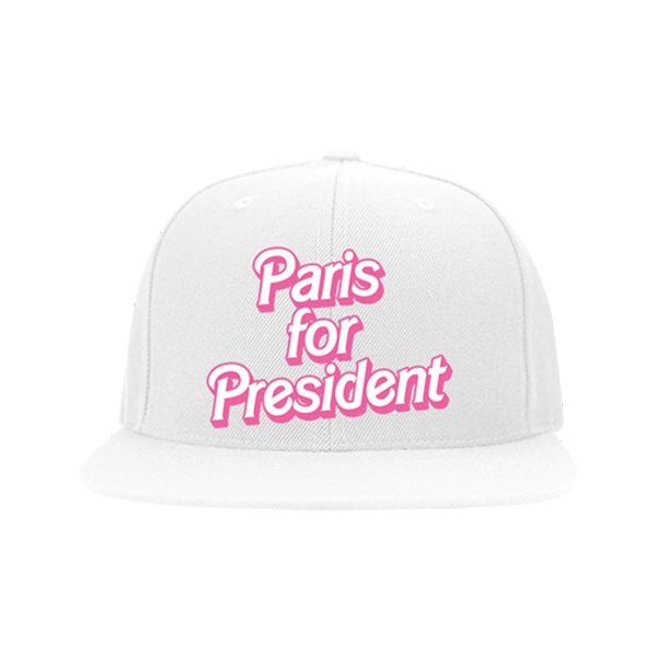 Paris For President Snapback Hat Pre-Order