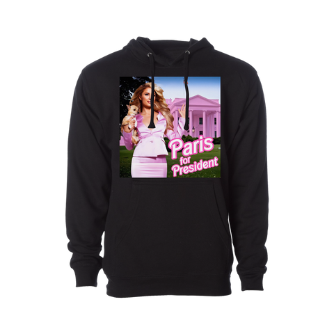 Paris For President Hooded Sweatshirt Pre-Order