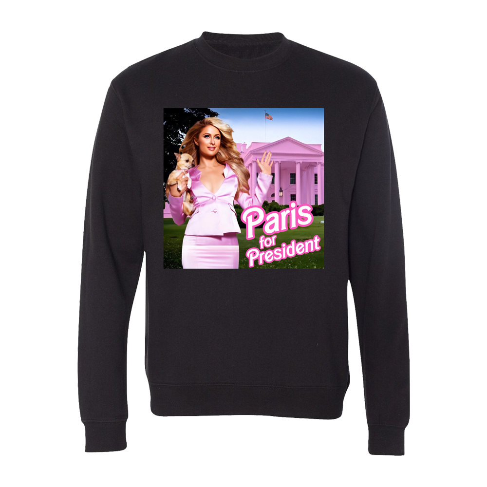 Paris For President Crewneck Sweatshirt Pre-Order