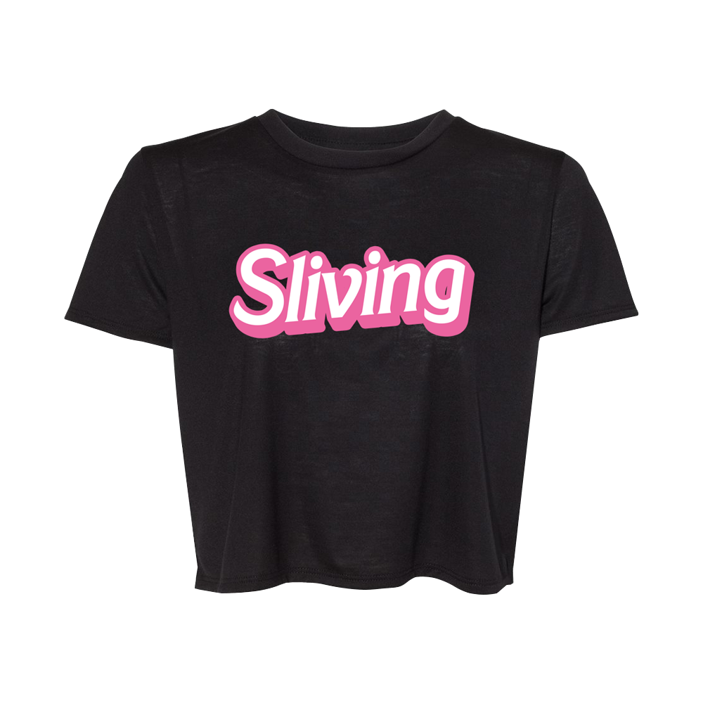Sliving Cropped Tee