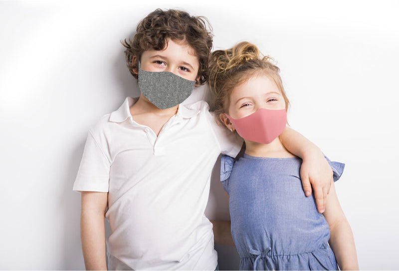 Kid's Anti-Microbial Copper Line Masks
