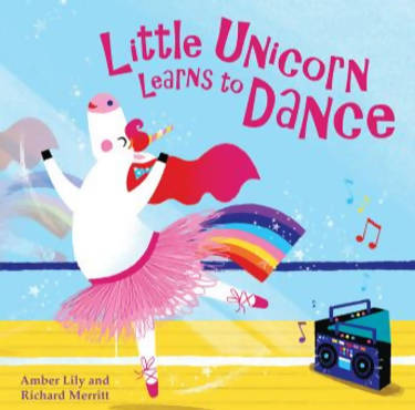 Little Unicorn learns to dance