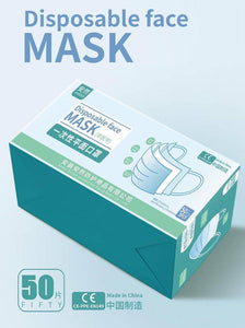 3-ply Certified Disposable Masks (Value Bundle - 100s)
