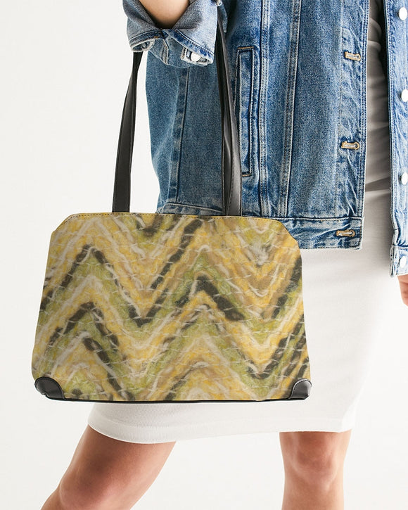 Frizzy Wool Shoulder Bag - MADE AND PRINT TO ORDER