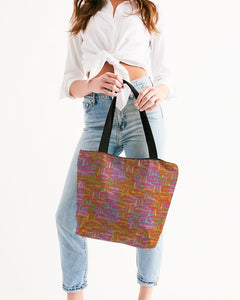 Mattone Canvas Zip Tote - MADE AND PRINT TO ORDER