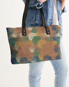 Woven straw Stylish Tote - MADE AND PRINT TO ORDER