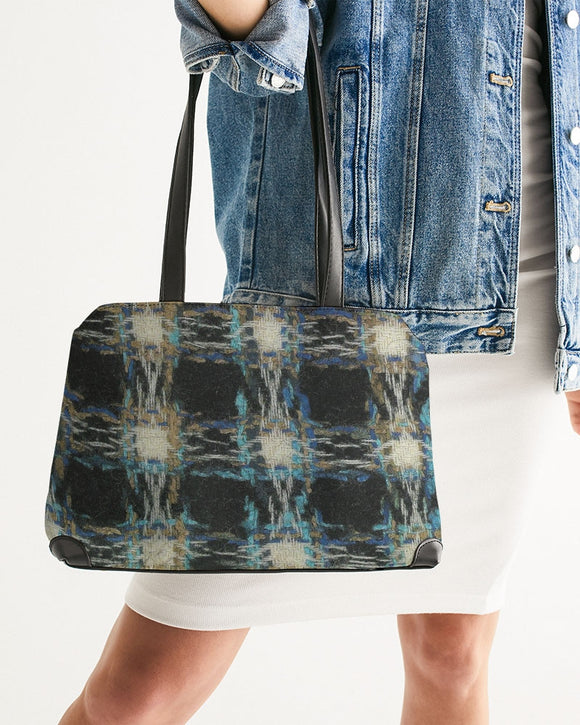 Pied de poule Shoulder Bag - MADE AND PRINT TO ORDER