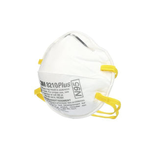 3M N95 8210 Plus Industrial Respirator Mask (20 pcs/box)
