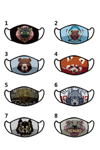 Custom Cloth Face Mask/Covering 70/200 pcs