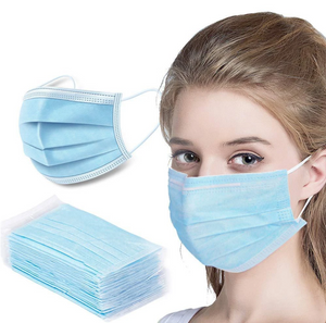 Medical Grade Disposable Face Mask  (50 pcs/box)