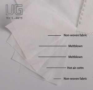 UG KN95 5 layers inner details