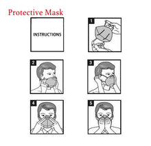 Load image into Gallery viewer, Where buy face masks, Kn95, Face mask, Face masks, n95, 4 layer mask, mask, masks, personal protective equipment, healthprotective, Mask sales,