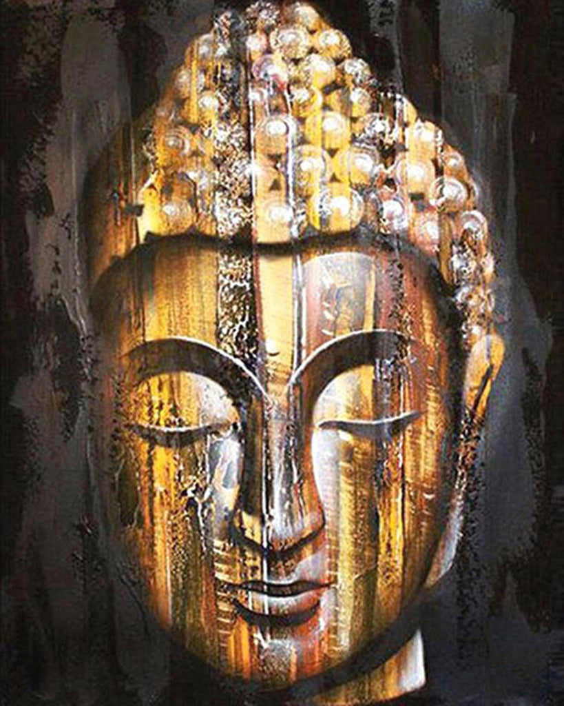 Diamond painting buddha spiritueel