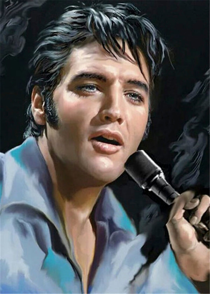 Diamond painting Elvis Presley