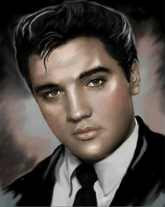 Diamond painting Elvis