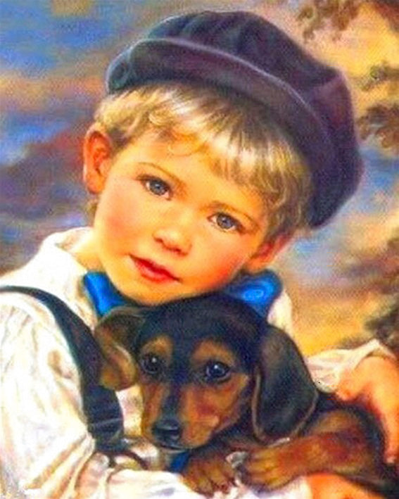 diamond-painting-kind-hond-vintage