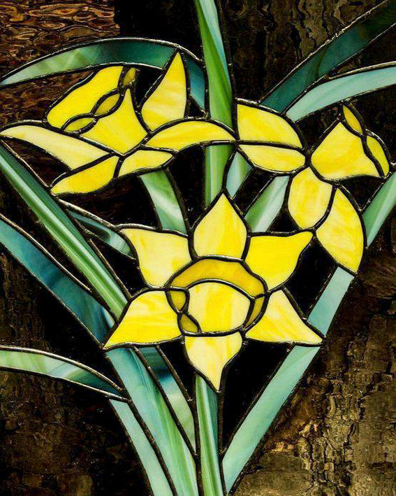 diamond painting narcissen