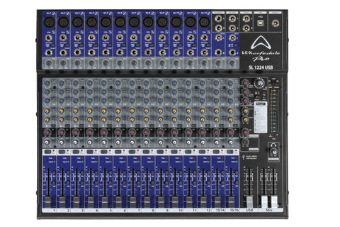 Wharfedale SL1224USB Analog Audio Mixer