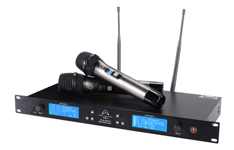 Wharfedale WF-300 Dual Wireless Microphone Set