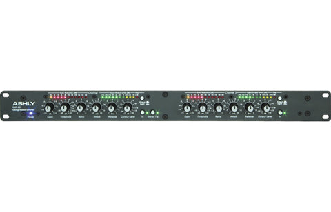 Ashly Audio Clx-52 2-Channel Peak Compressor/limiter