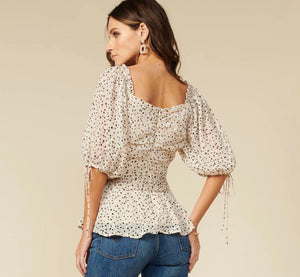 Sweetheart Dotted Top