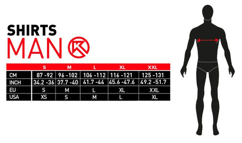 sizes table