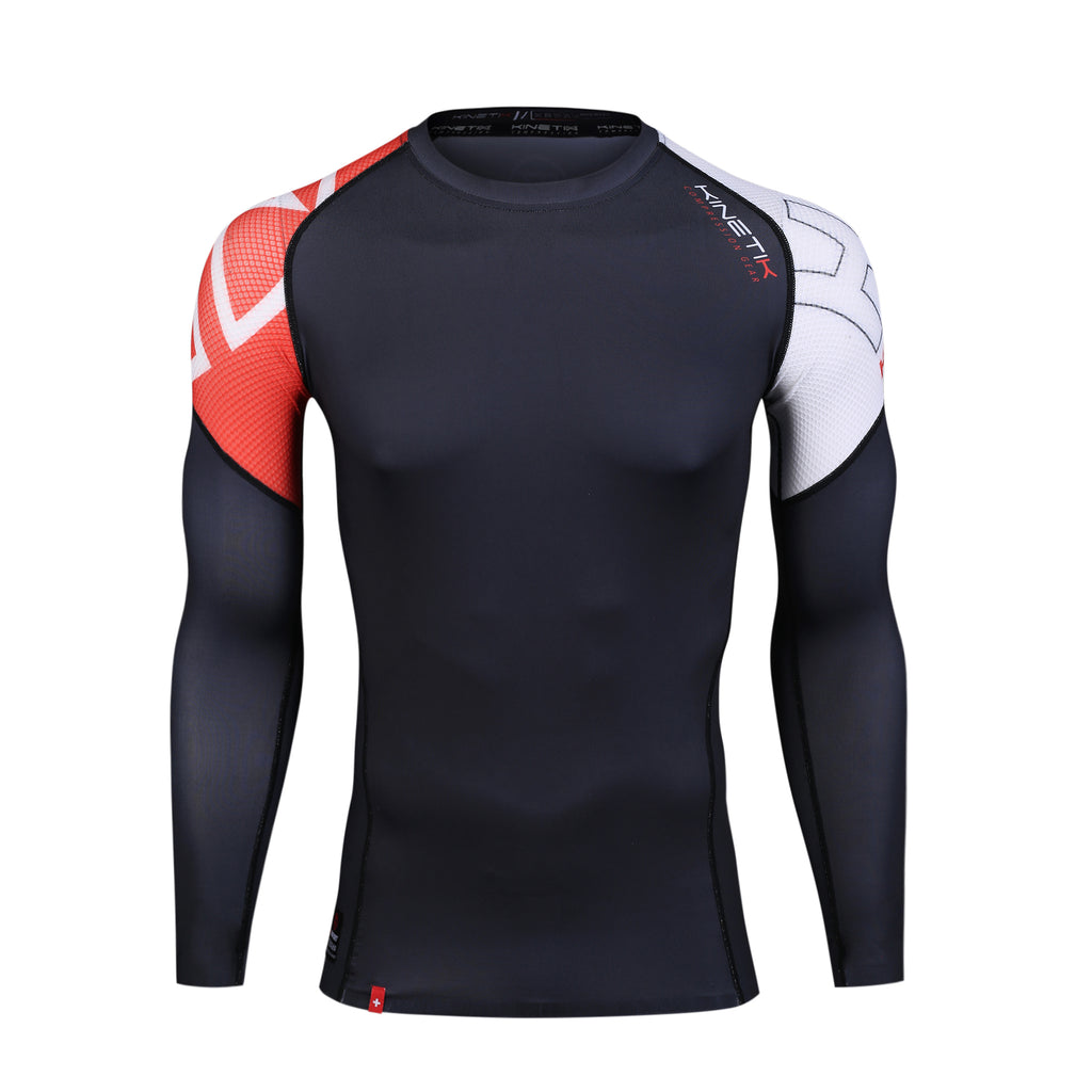 Men's Compression Long Sleeve Shirt KF