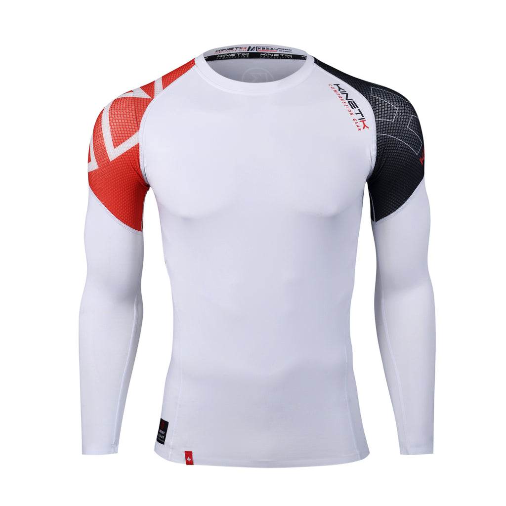 Herren Compression Langarm Shirt KF