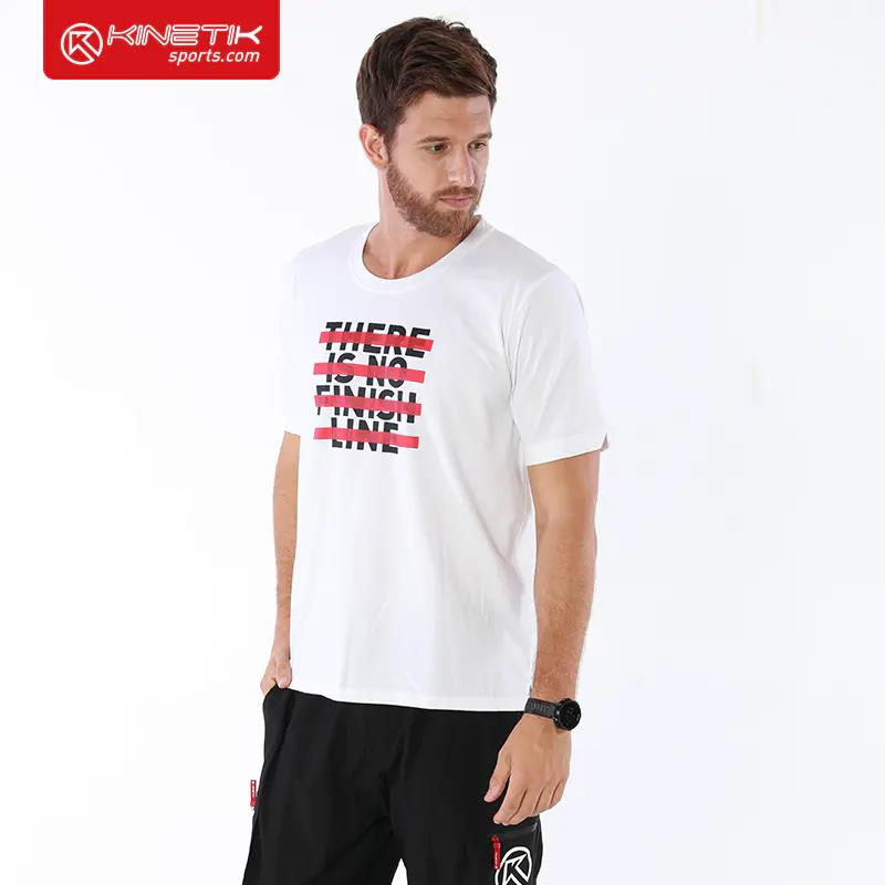 "Casual T Shirt ""There Is No FInish Line"""