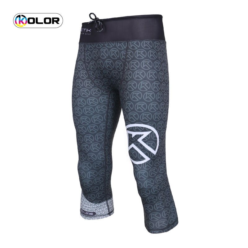 Kinetik Three Quarter Compression Tights