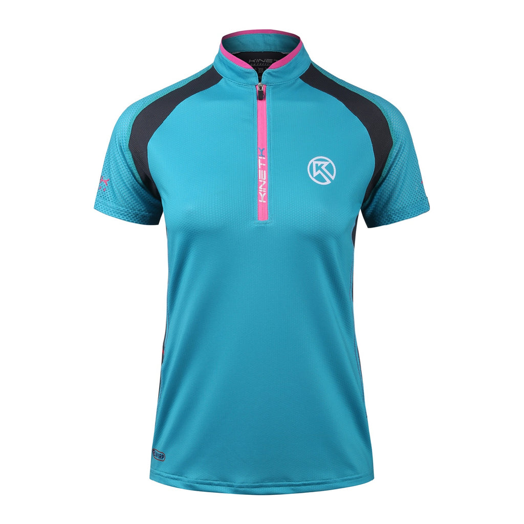 Women's Running Shirt Falkon Blue