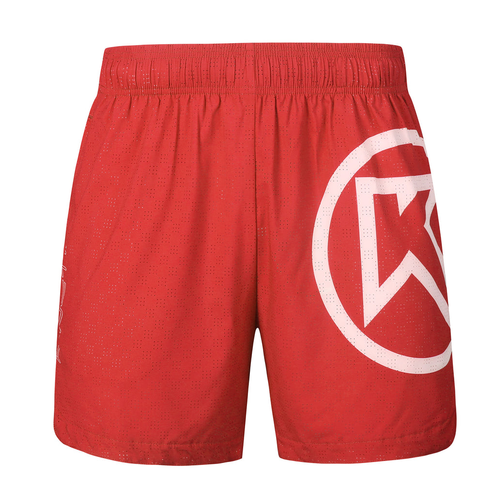 Men's Loose Fit Running Shorts Friesian Red