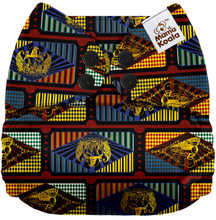 Load image into Gallery viewer, Mama Koala One Size Pocket Nappy (2x Bamboo Inserts)- Harry Potter Hogwarts Express