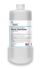 Load image into Gallery viewer, Hand Sanitizer Alcohol Antiseptic - Quart (case of 12) *Non-Sterile Solution