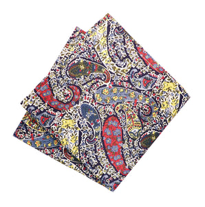 Parisian Liberty Pocket Square - Bourton