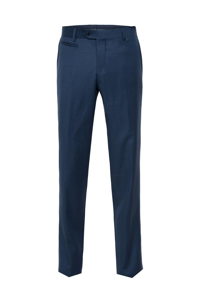 Bruton FT5 Blue Suit Trousers