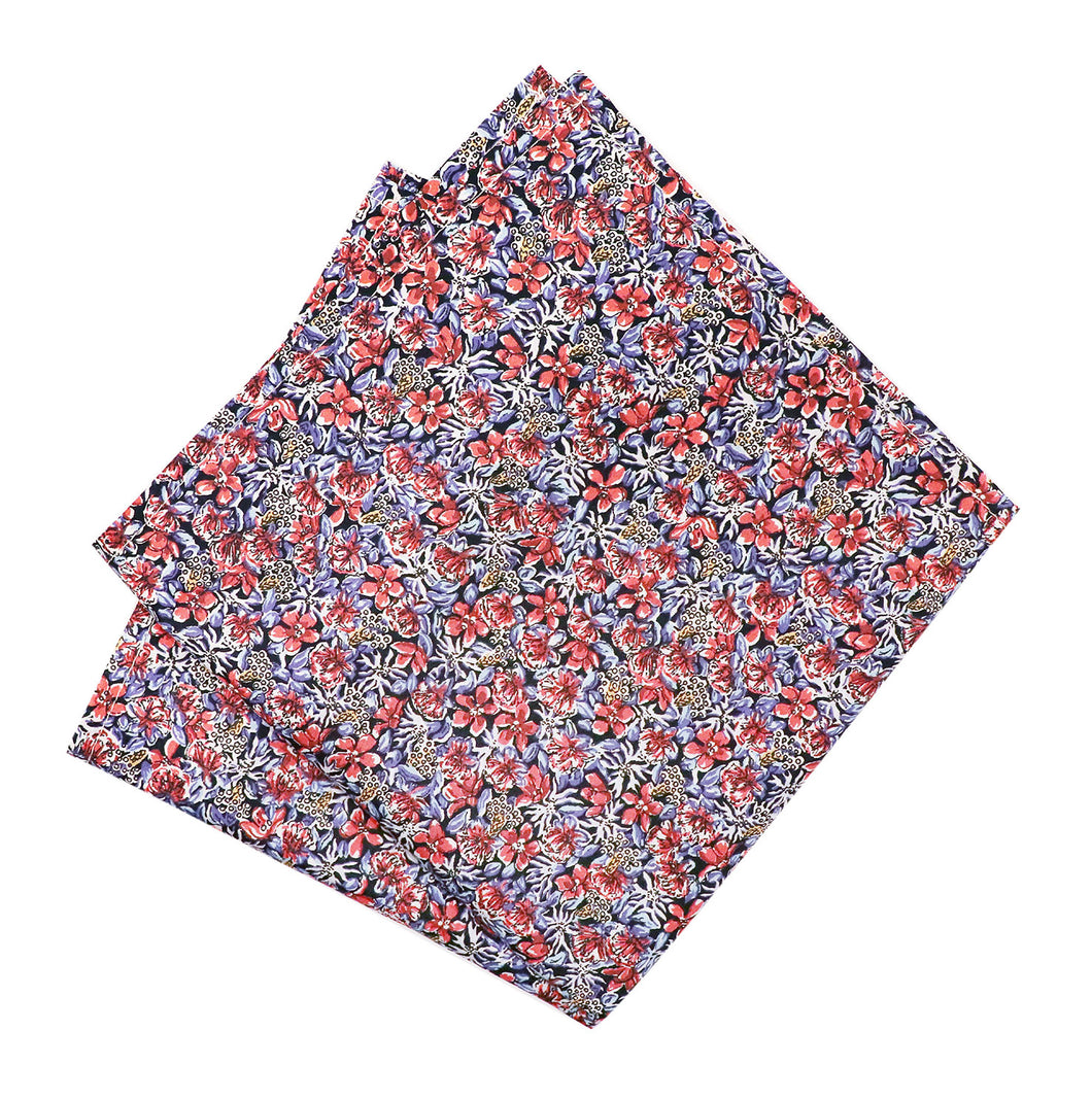 Parisian Liberty Pocket Square - Ragged Robin