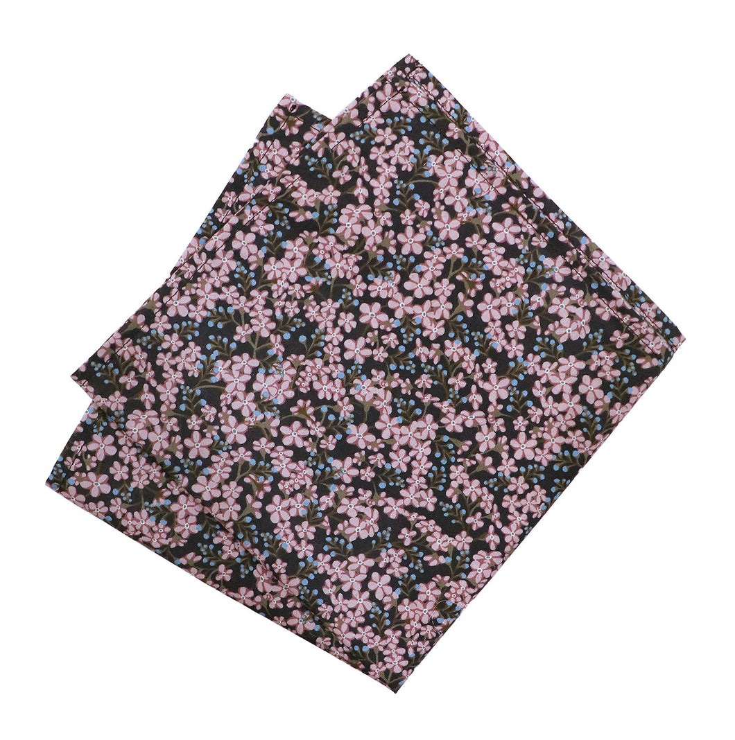 Parisian Liberty Pocket Square - Star Anise