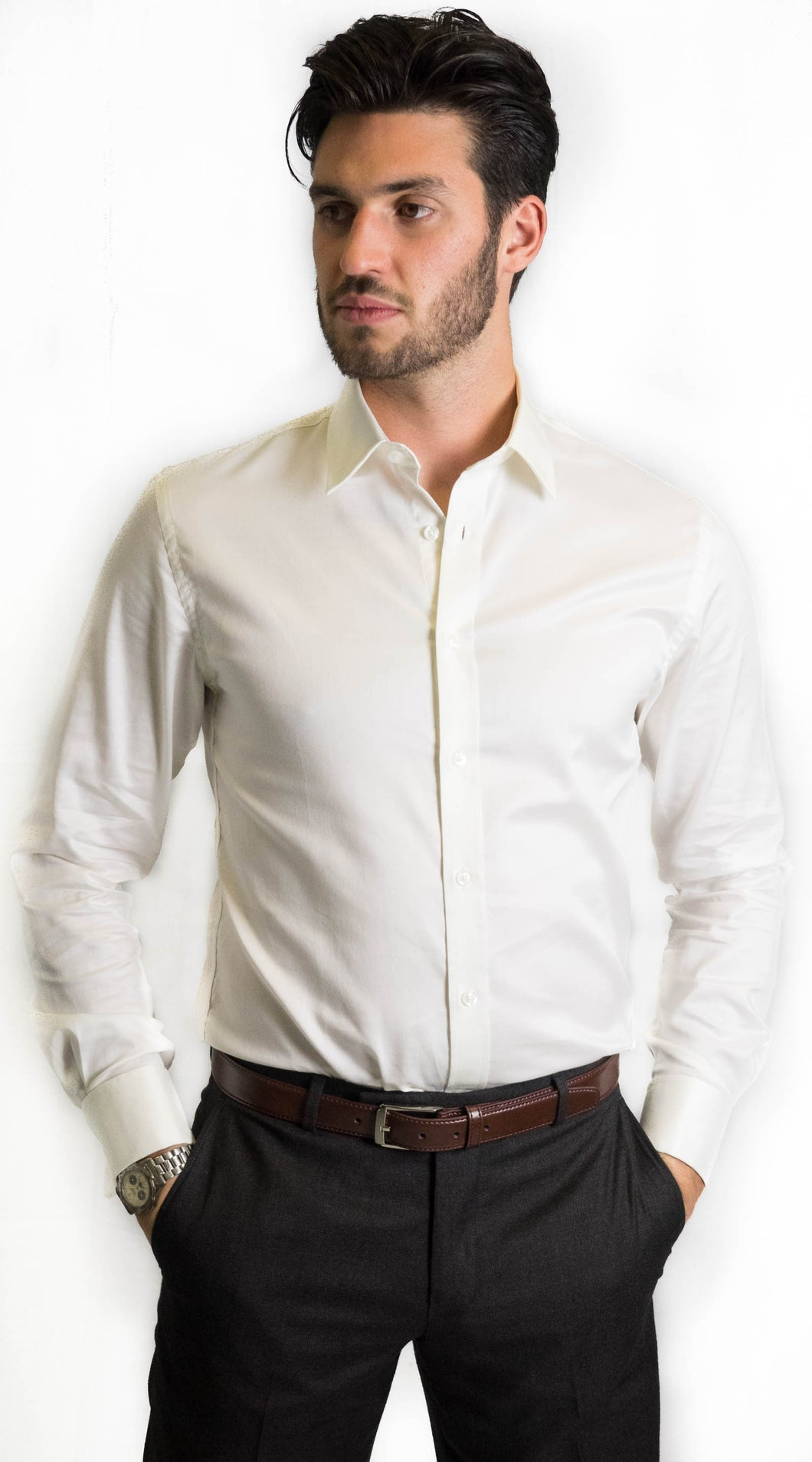 Brooksfield Ivory Shirt