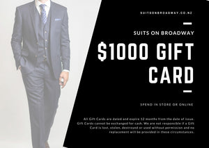 Suits on Broadway Gift Card