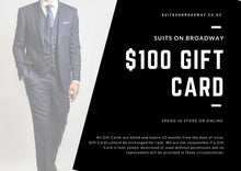 Load image into Gallery viewer, Suits on Broadway Gift Card