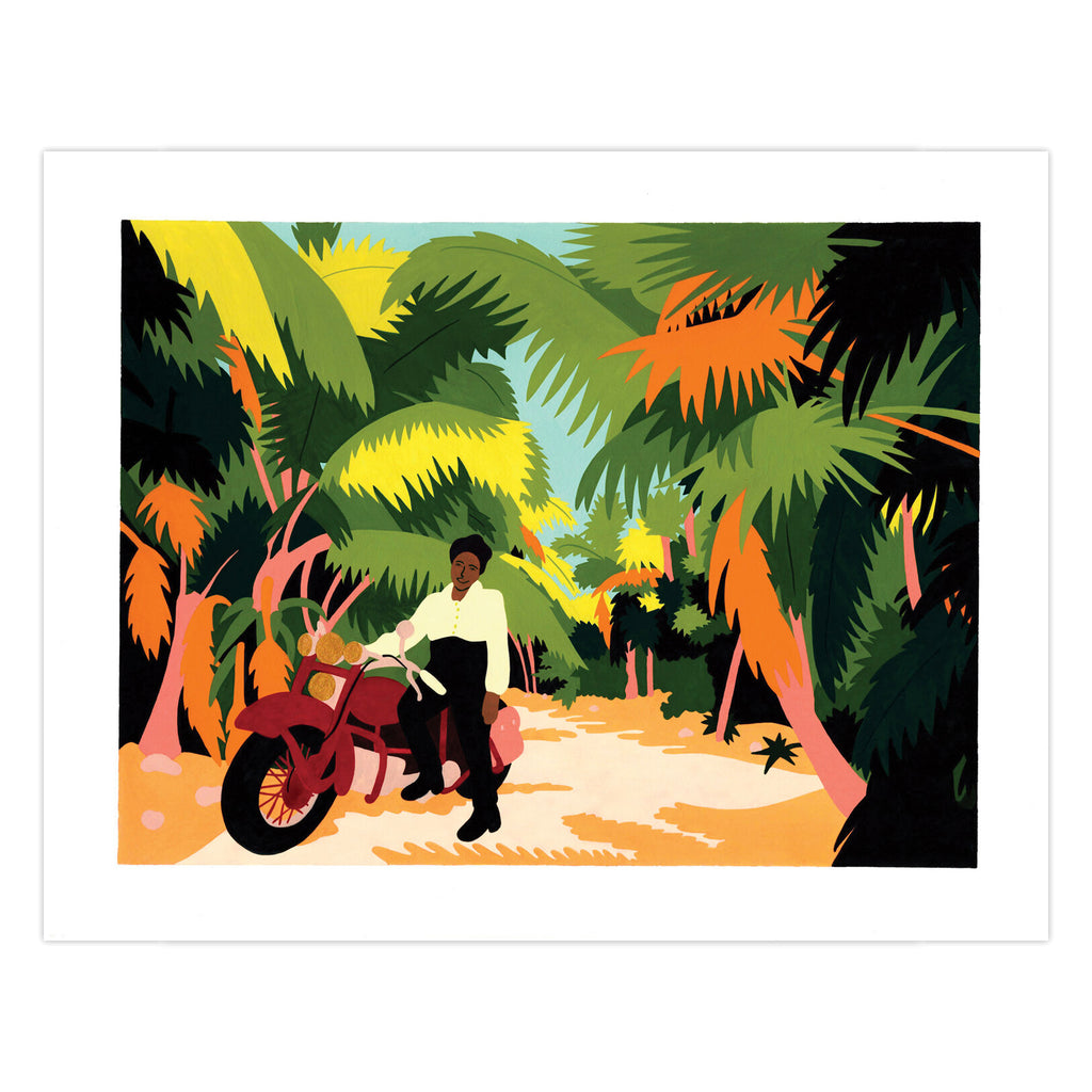 Motorcycle Queen of Miami (Bessie Stringfield) - Print