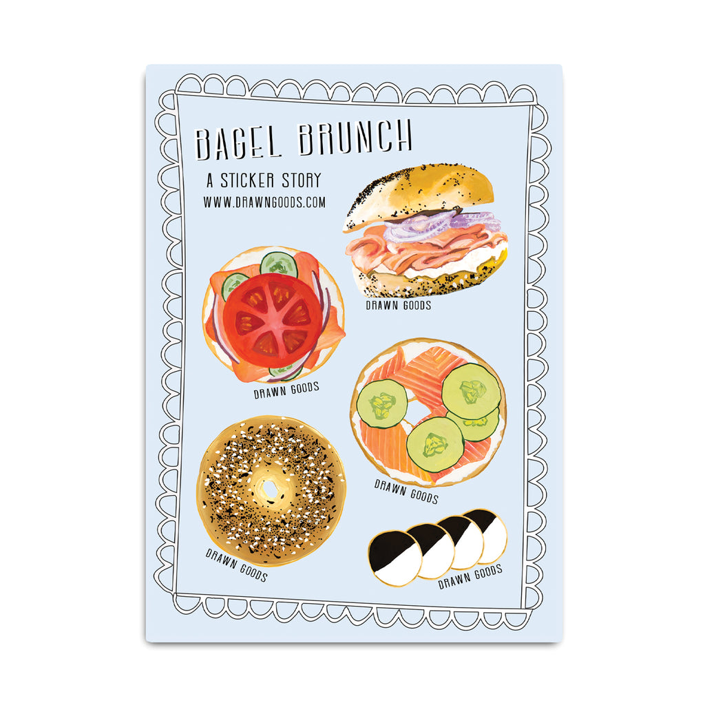 Bagel Brunch Sticker Sheet