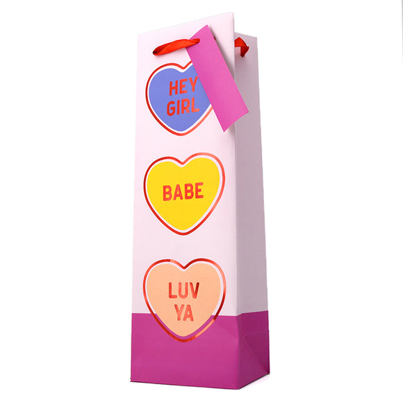CANDY HEARTS GIFT BAG